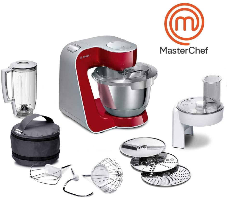 Bosch MUM58720 Macchina da Cucina, Acciaio Migliore impastatrice planetaria economica
