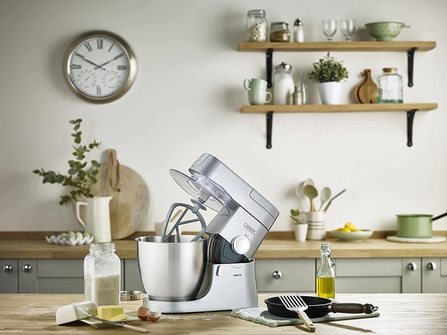 Kenwood-KVL4100S-Impastatrice-Planetaria-Chef-XL,-Robot-da-Cucina-